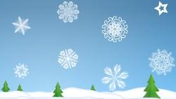 Вырезаем красивую снежинку онлайн
