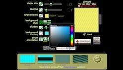 Онлайн генератор бесшовного фона в полоску