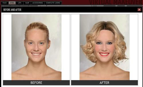 Подбор макияжа онлайн с фото