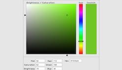Генератор цвета в HTML