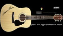 Играть на классической гитаре онлайн