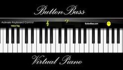 Пианино онлайн на клавиатуре