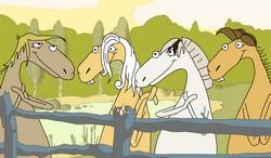 Поющие лошадки
