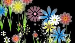 Рисовать цветами онлайн