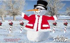 снеговик конструктор онлайн