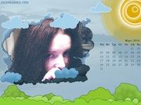 Создать и распечатать календарь на месяц