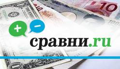 Сравнение курса обмена валюты в разных банках России