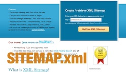 Онлайн генератор sitemap.xml