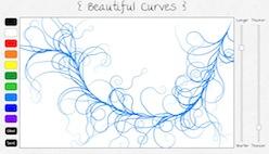 Рисование красивыми волнистыми линиями