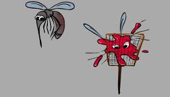 Прихлопни комарика — мухобойка онлайн