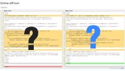 Сравнить php или другой код онлайн