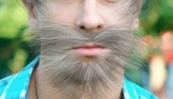 Нарисовать усы, бороду или шевелюру на фото
