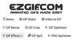 Редактор GIF анимации онлайн