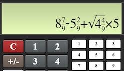 онлайн калькулятор дробей
