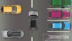 Симулятор вождения автомобиля на парковке