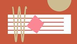 Музыкальная клавиатура Patatap