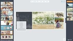 Создание обложки для Facebook в онлайн конструкторе