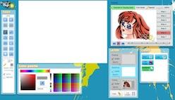 Рисовать онлайн с пошаговым уроком