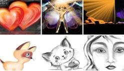 Рисование в браузере разными кистями