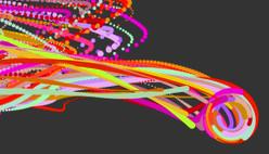 Рисовать онлайн разноцветными линиями