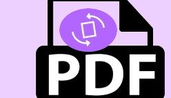 Перевернуть PDF страницу быстро онлайн