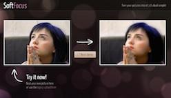 Размыть фон на фото онлайн
