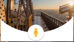 Виртуальное путешествие на Эйфелеву башню Париж
